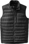 Outdoor Research Transcendent Down Vest Schwarz, Male Daunen Isolationsweste, XL