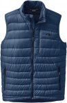 Outdoor Research Transcendent Down Vest Blau, Male Daunen Isolationsweste, M
