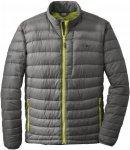 Outdoor Research Transcendent Sweater Grau, Male Daunen XL -Farbe Pewter -Lemong