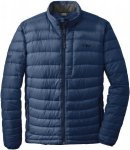 Outdoor Research Transcendent Sweater Blau, Male Daunen L -Farbe Dusk -Night, L