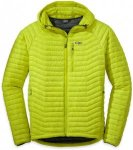 Outdoor Research Verismo Hooded Down Jacket Grün, Male Daunen S -Farbe Jolt, S