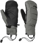 Outdoor Research Stormbound Mitts Grau, Daunen Accessoires, M