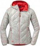 Outdoor Research Filament Hooded Jacket Grau, Female Daunen Daunenjacke, S