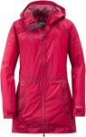 Outdoor Research W Helium Traveler Jacket Rot | Damen Regenjacke