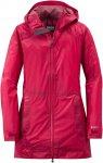 Outdoor Research W Helium Traveler Jacket Rot | Damen Regenjacke