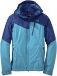 Outdoor Research W Offchute Jacket Colorblock / Blau | Größe M | Damen Regenja