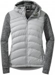 Outdoor Research Plaza Hoody Grau, Female Daunen Freizeitjacken, M