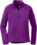Outdoor Research W Radiant LT Zip Top Lila   Damen Sweaters & Hoodies