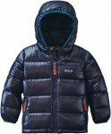 Patagonia Baby HI-Loft Down Sweater Hoody Kinder | Blau | 6M | +6M