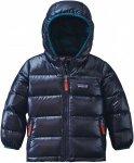 Patagonia Baby HI-Loft Down Sweater Hoody Blau, Daunen Daunenjacke, 6M