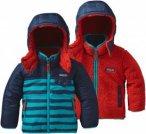 Patagonia Baby Reversible Tribbles Hoody | Größe 12M,6M | Kinder Fleece Jacke