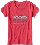 Patagonia Girls Femme Fitz Roy Cotton Poly T-Shirt Rot, Female XS -Farbe Cerise,
