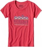 Patagonia Girls Femme Fitz Roy Cotton Poly T-Shirt | Kinder Kurzarm-Shirt