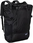 Patagonia Lightweight Travel Tote Pack 22L, Black Schwarz, 22l