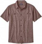 Patagonia Back Step Shirt Rot, Male Kurzarm-Hemd, M