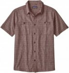 Patagonia Back Step Shirt Kariert, Male Kurzarm-Hemd, M