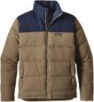 Patagonia Bivy Down Jacket Colorblock, Male Daunen Daunenjacke, XL