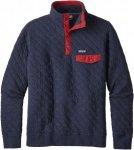 Patagonia M Cotton Quilt Snap-T Pullover | Größe L,XL | Herren Freizeitpullove