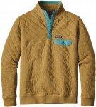Patagonia Cotton Quilt Snap-T Pullover Braun, Male Freizeitpullover, XL