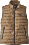 Patagonia Down Sweater Vest Beige, Male Daunen Isolationsweste, XL