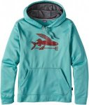 Patagonia M Flying Fish Polycycle Hoody | Herren Fleece-Pullover