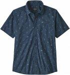 Patagonia M GO TO Shirt Blau | Herren Hemd