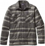 Patagonia Insulated Fjord Flannel Jacket Kariert, Male Langarm-Hemd, XL