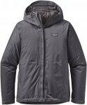 Patagonia Insulated Torrentshell Jacket Grau, Male Freizeitjacke, XL