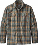 Patagonia Long-Sleeved Fjord Flannel Shirt Kariert, Male Langarm-Hemd, XL