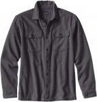 Patagonia Long-Sleeved Fjord Flannel Shirt Grau, Male Langarm-Hemd, XL