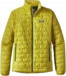 Patagonia Nano Puff Jacket Gelb, Male PrimaLoft® Isolationsjacke, XL