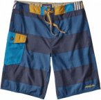 Patagonia Patch Pocket Wavefarer Board Shorts Blau, Male Shorts, 28