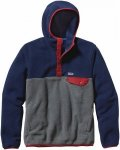 Patagonia Synchilla Snap-T Hoody Colorblock, Male Freizeitpullover, XXL