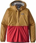 Patagonia Torrentshell Pullover Rot, Male XL -Farbe Oaks Brown -Fire, XL