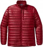 Patagonia Ultralight Down Jacket Rot, Male Daunen Daunenjacke, XXL