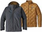 Patagonia Windsweep 3-IN-1 Jacket Grau, Male Doppeljacke-3-in-1-Jacke, XXL