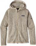 Patagonia W Better Sweater Hoody (Modell Winter 2018) Beige | Größe XL | Damen