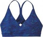 Patagonia W Cross Beta Sports Bra Blau | Größe M | Damen Unterwäsche