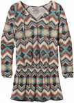 Patagonia W Kamala Drop Waist Tunic | Größe S,L | Damen Langarm-Shirt