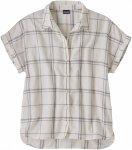 Patagonia W Lightweight A/C Shirt Kariert / Weiß   Größe M   Damen Hemd