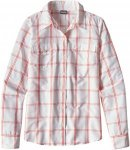 Patagonia Womens Long-Sleeved Overcast Shirt Weiß, 6, Damen ▶ %SALE 30%