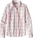 Patagonia Long-Sleeved Overcast Shirt Kariert, Female Langarm-Hemd, 6