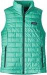 Patagonia Nano Puff Vest Grün, Female PrimaLoft® Isolationsweste, S