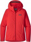 Patagonia R1 Tech Face Hoody Rot, Female Freizeitjacke, L