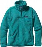 Patagonia RE-Tool Snap-T Pullover Blau, Female Polartec® Freizeitpullover, L