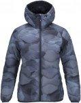 Peak Performance W Helium Hood Printed Jacket Damen   Blau   M   +S,M,L