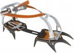 Petzl Irvis Flexlock Orange / Schwarz   Größe One Size    Steigeisen