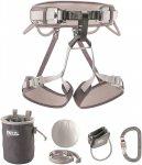 Petzl KIT Corax Grau | Größe Größe 1 |  Klettern, Bouldern & Slackline