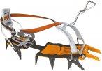 Petzl Lynx Leverlock Universel Orange / Schwarz   Größe One Size    Steigeisen