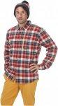 Picture Mens Cooper Shirt Rot, S, Herren Langarm-Shirt ▶ %SALE 45%